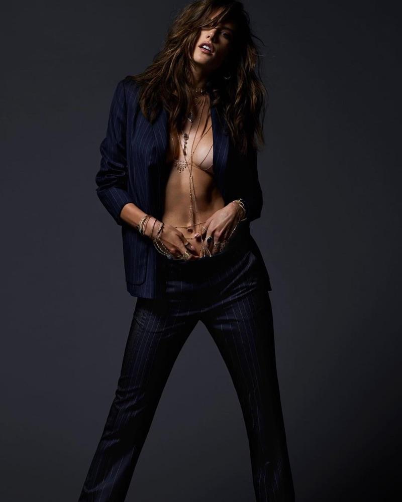 Alessandra Ambrosio – Jacquie Aiche Summer 2017 Campaign