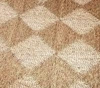 Baklava desenli hasır dokuma halı