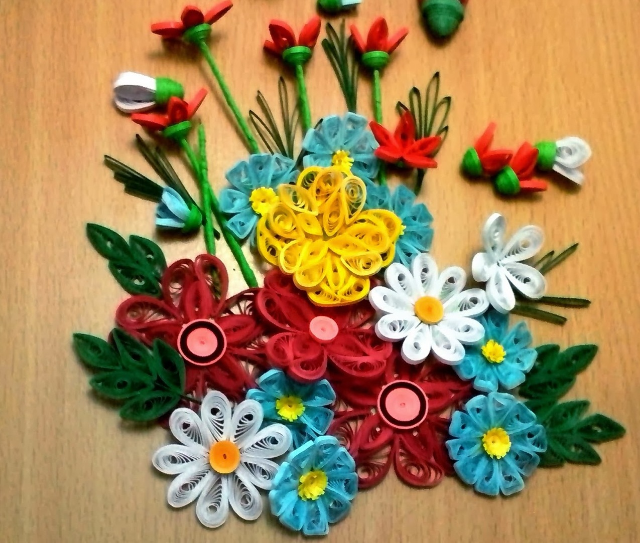 Gubahan Bunga Hiasan Dinding Desainrumahid com
