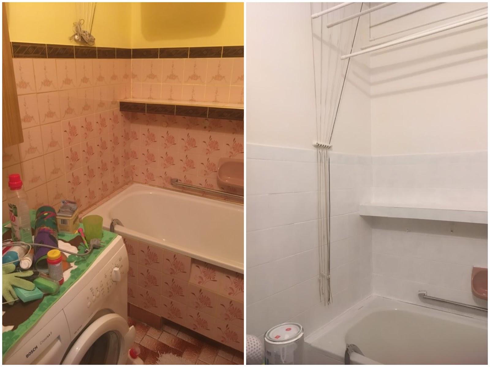 Madziakowo Diy Malowanie Płytek W łazience Prl