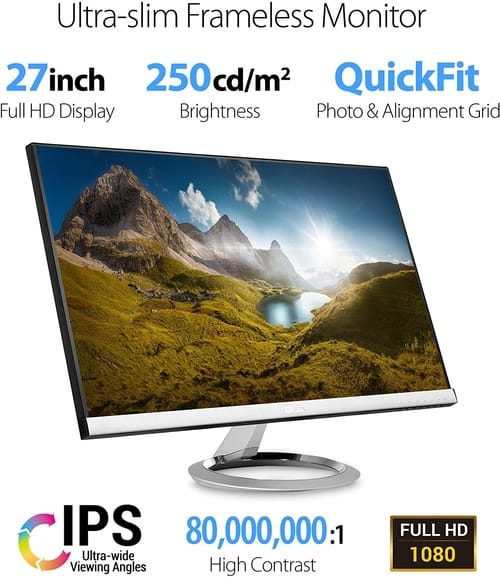 Review Asus Designo MX279HS IPS LED Full HD Monitor