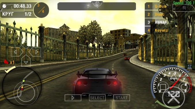 Game PPSSPP Need For Speed Underground