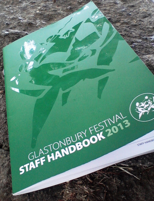 Glastombury Festival Staff Handbook