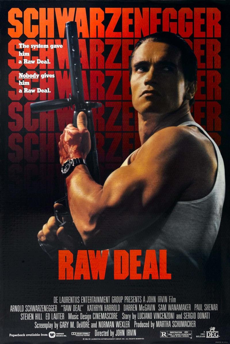 Raw Deal 1986 Dual Audio Hindi English 720p BluRay Full Movie Free Download