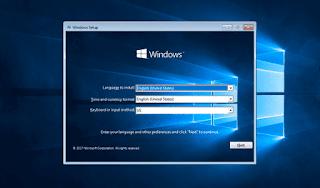 Sử dụng bộ cài Windows kiểm tra thông tin boot và cấu trúc ổ đĩa