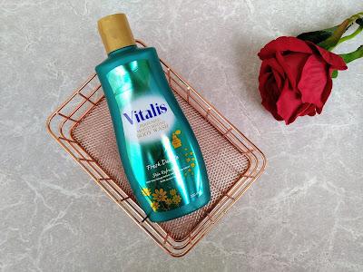 vitalis perfumed moisturizing body wash