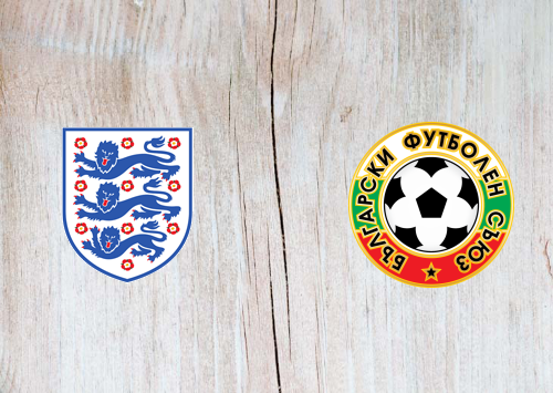 England vs Bulgaria Full Match & Highlights 7 September 2019