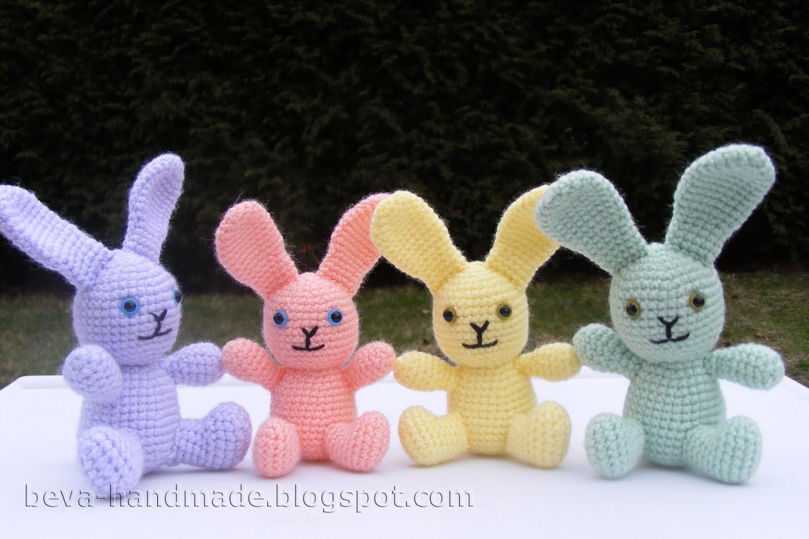 Króliczek na szydełku, część 1/2. Crochet bunny, part 1/2 ... | 1066x1600