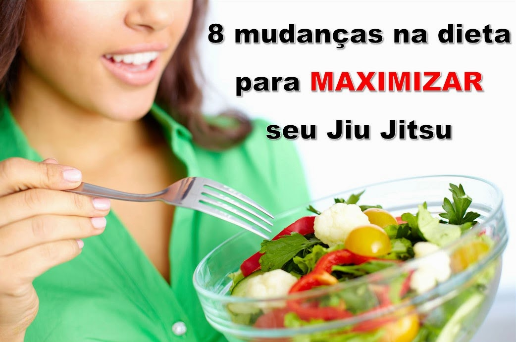 dieta para atletas de jiu jitsu