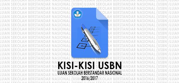 Kisi-Kisi USBN SMP SMA dan SMK Tahun Pelajaran 2016-2017