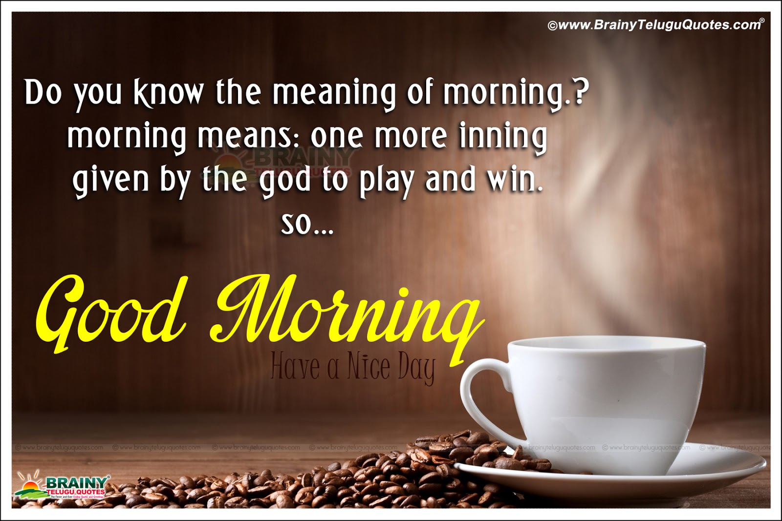 Good Morning Messages French : Inspirational good morning messages motivations wallpapers