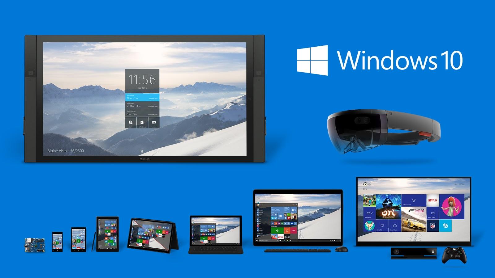 Dopo il 29 Luglio, termine dell'aggiornamento gratuito a Windows 10