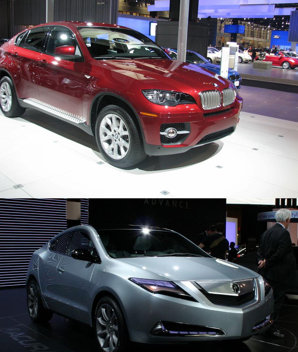 Acura ZDX Cars