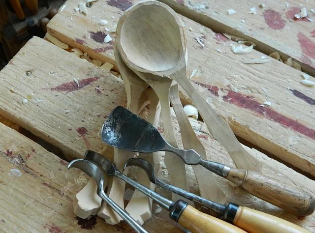 изготовление деревянных ложек