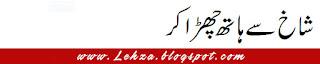 Shakh Se Haath Chudha Kar