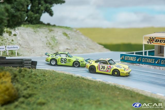#70 Porsche 911 RSR Le Mans 1974 Slot Car Custom