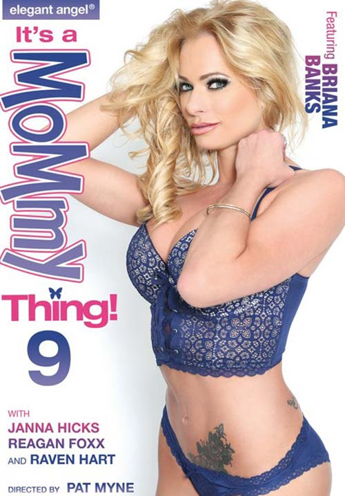 [18+] Its A Mommy Thing 9 XXX Elegant Angel 2018 DVDRip x264 Poster