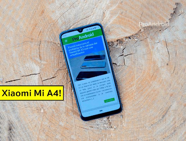 مواصفات وسعرXaiomi Mi A4: المعالج والكاميرا والاتصال