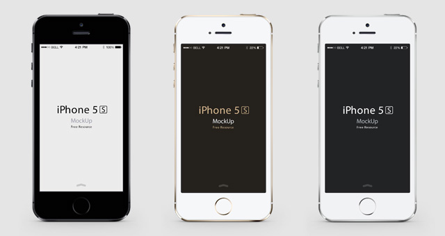 iPhone Flat Design