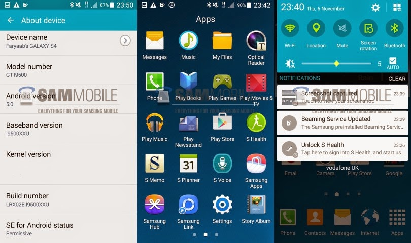 Notat 2 android lollipop oppdatering samsung  » irspitlindma cf