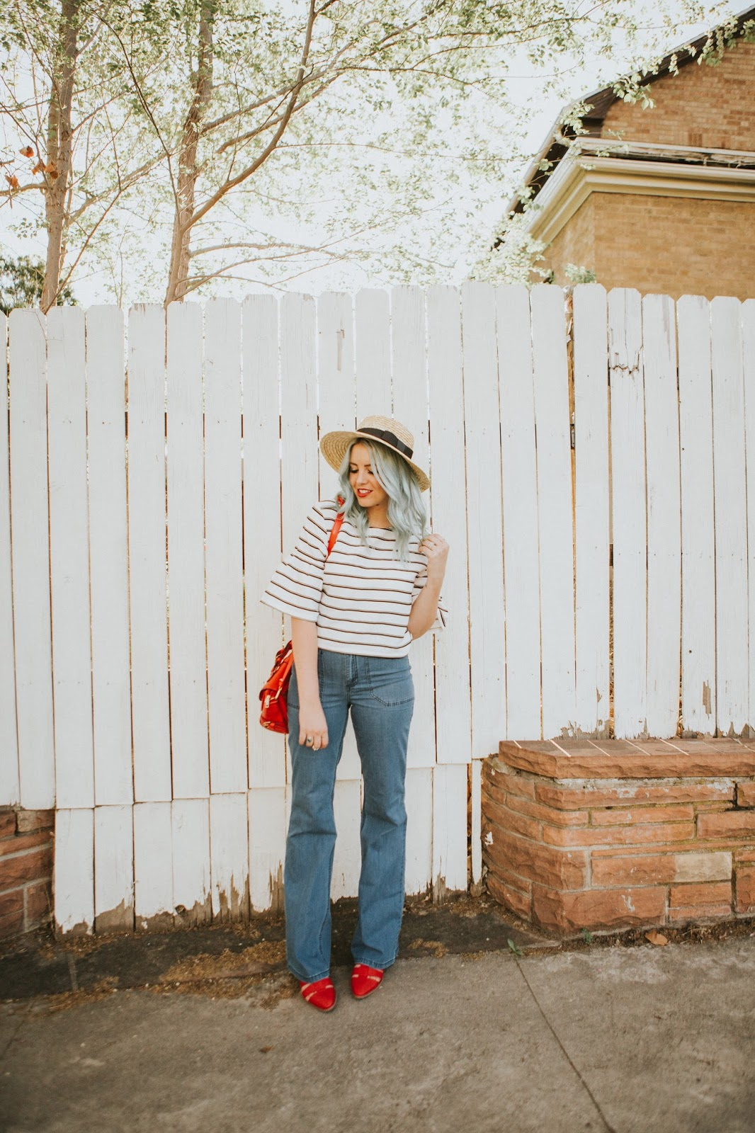 Nautical, Long Tall Sally, 70's Jeans