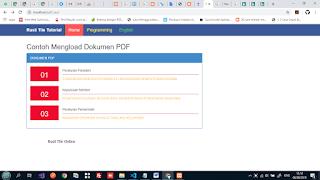 Menampilkan File Pdf Dari database.html