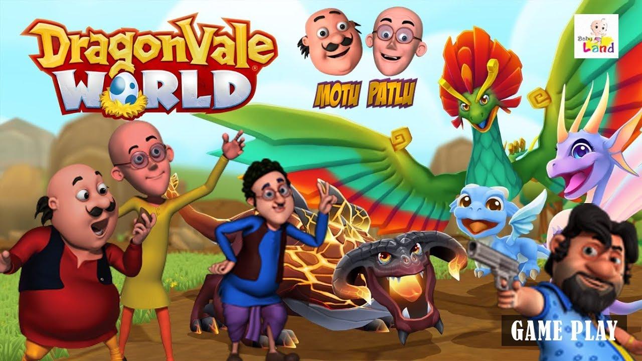 Motu Patlu In Dragon S World Movie Kids Animated Movie Wowkidz
