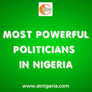 Most powerful politicians in Nigeria for this year