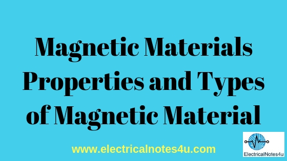 Magnetic Properties of Materials