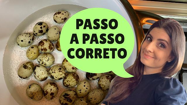Como cozinhar ovos de codorna? Truques essenciais!