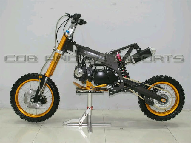 Gambar Rangka Motor Cross Mini Automotivegarage Org