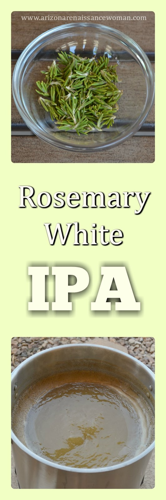 Rosemary White IPA - Homebrew Recipe