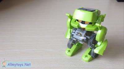 Solar Toy Robot