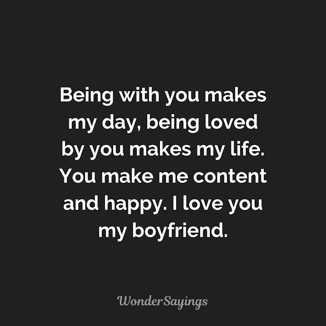Love Quotes for Boyfriend