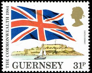 Guernsey Union Jack & Castle Cornet