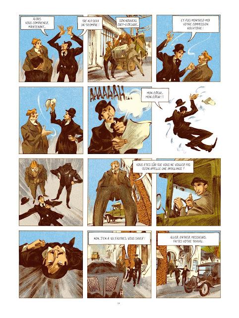 Chaplin tome 2 prince d'Hollywood aux éditions Rue de Sèvres page 18