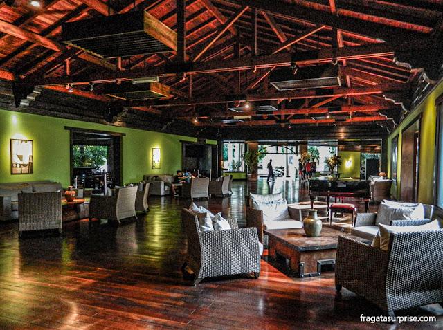 Sala de estar do Hotel San Martin Resort & Spa, em Foz do Iguaçu