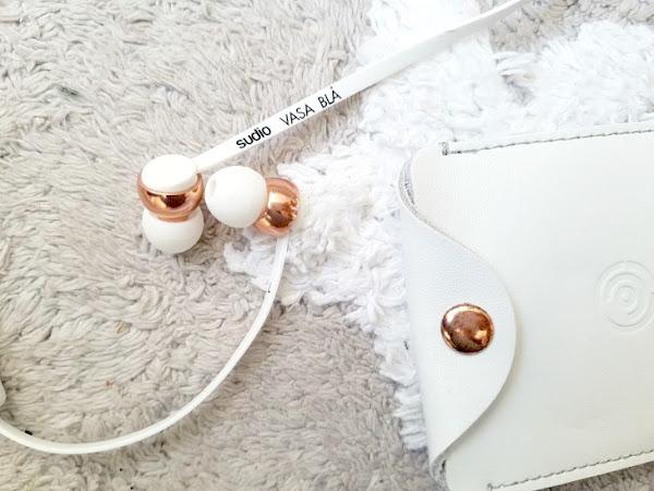 Sudio Sweden, les écouteurs pratiques pour filles débordées :-)
