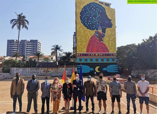 El CEMFAC de Los Llanos de Aridane deja su huella en Maputo, la capital de Mozambique