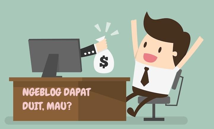Begini Cara Dapat Uang Lewat Blog Tanpa Modal