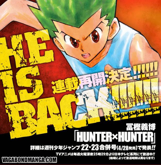 Bản tin manga số 1, Hunter X Hunter