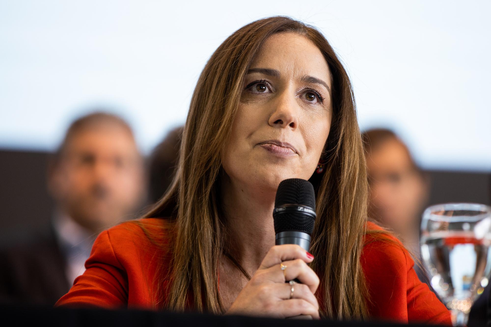 """María Eugenia Vidal se lanza como candidata en la ciudad: """"En esta elección se juega el futuro de los argentinos, por eso estoy"""""""