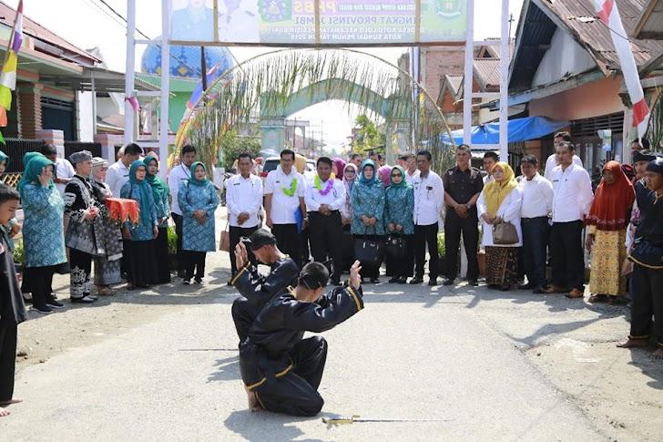 Koto Lolo Wakili Kota Sungai Penuh Lomba PHBS Ke Tingkat Provinsi Jambi