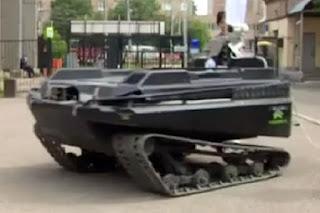 Hubungan Rusia dan Barat Memanas, Rusia Luncurkan Robot Perang Baru