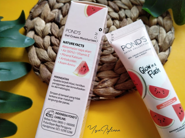 review ponds watermelon moisturizer