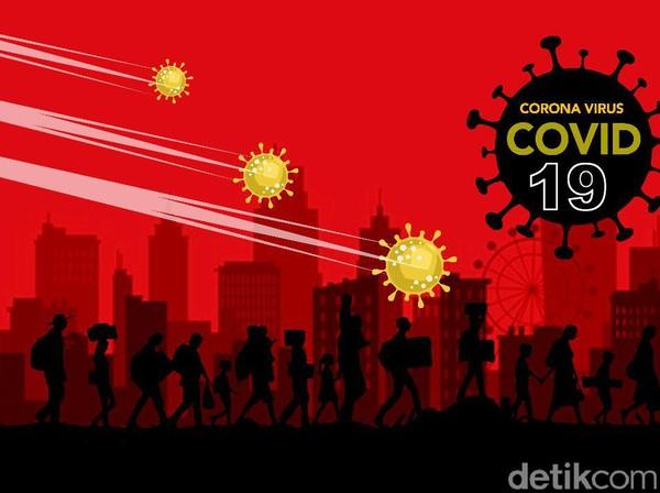 Tambah 4.294, Kasus Positif Corona di RI 10 Oktober Jadi 328.952