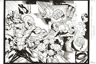 Art of, Ed Mcguinness, comics, Marvel, DC, wildstorm, Deadpool, Superman