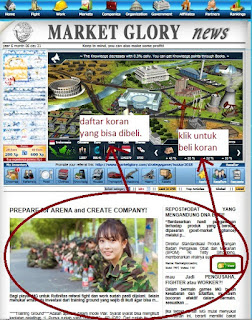 How to Buy Newspaper on MarketGlory (To Add Energy) 2