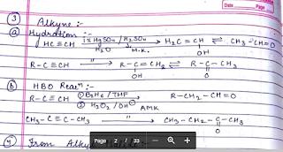 CHEMISTRY HANDWRITTEN NOTES