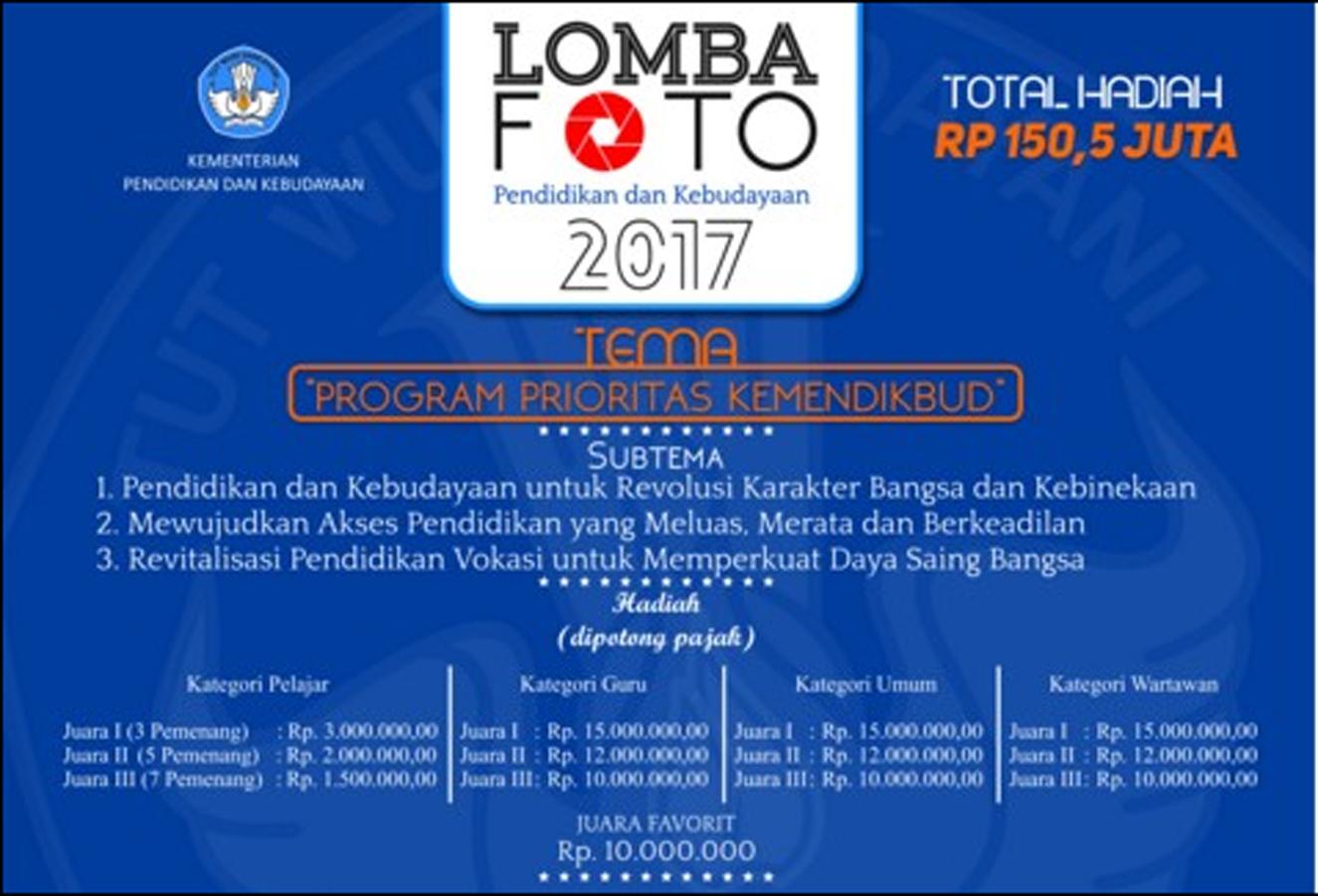 Lomba Foto Dan Kebudayaan 2017 by Kemendikbud